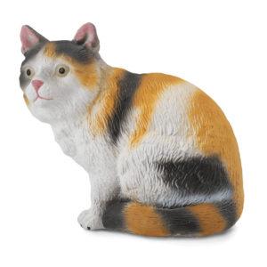 Τρίχρωμη Γάτα – καθιστή
