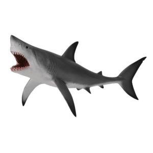 Μεγάλος Λευκός Καρχαρίας με ανοιχτό στόμα