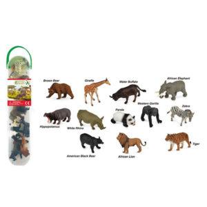CollectA Κασετίνα με Μίνι Αγρια Ζώα – 1