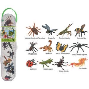 CollectA Κασετίνα με Μίνι Έντομα και Αράχνες