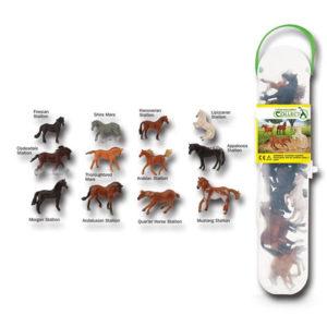 CollectA Κασετίνα με Μίνι Αλογα – 1