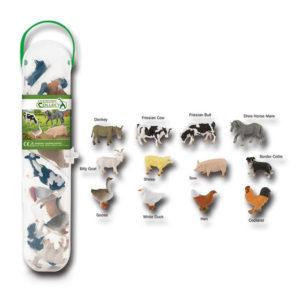 CollectA Κασετίνα με Μίνι Ζώα Φάρμας – 1
